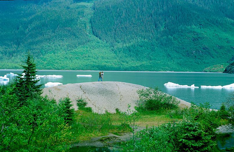 Wildes Alaska: der Mendenhall Glacier von Juneau