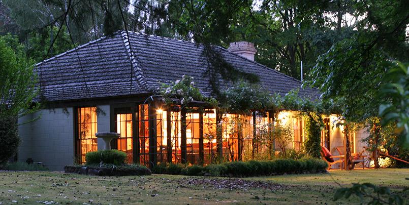 Das Riverhouse von Howqua Dale