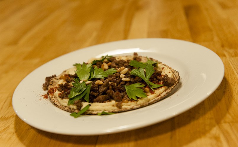 Pide, zubereitet bei Foragers in den Southern Forests