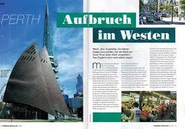 Perth: Aufbruch im Westen. Mein Portrait im Business Traveller 5/2015