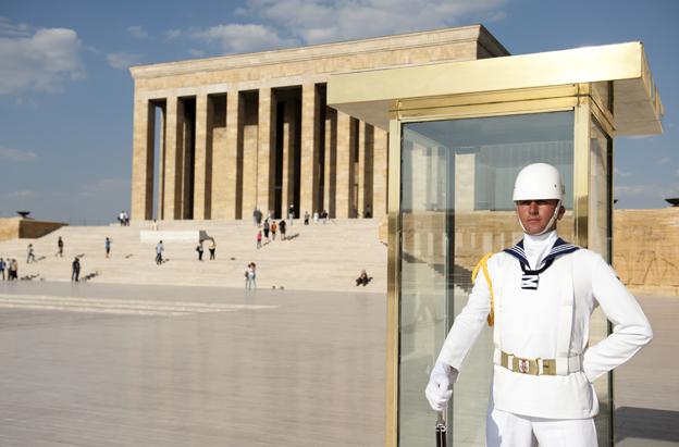 Anitkabir: das Mausoleum für Atatuerk in Ankara