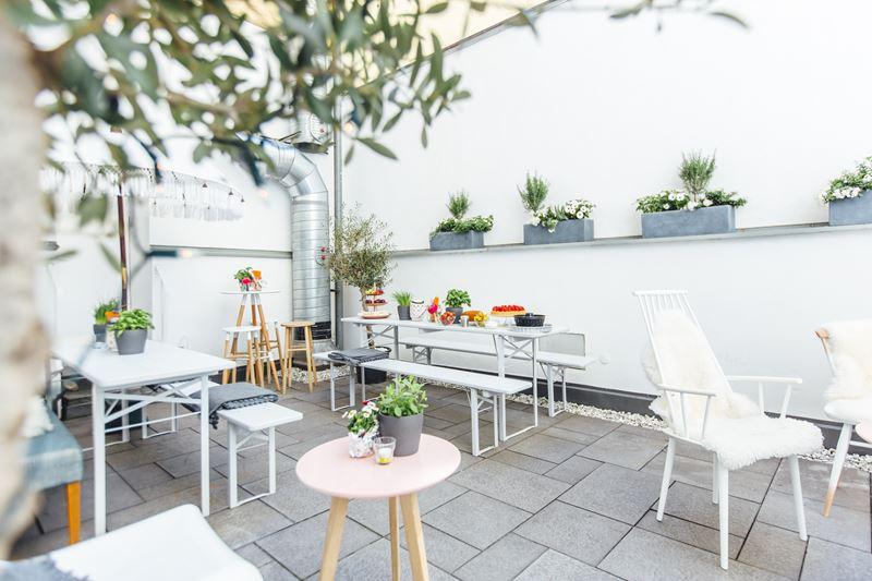Innenhof vom Hofspielhaus-Café
