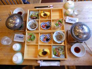 Frühstück nach japanischer Tradition