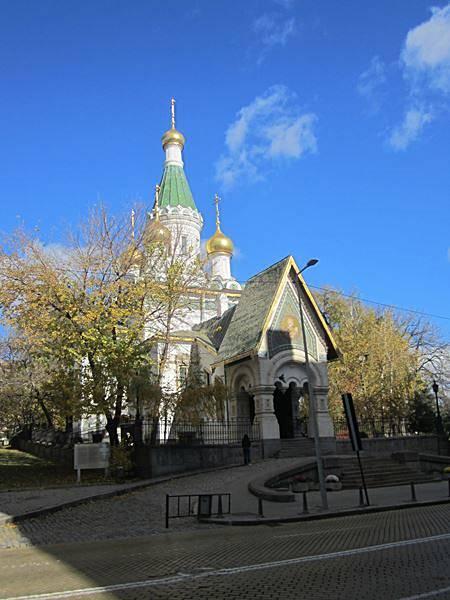Sweti Nikolai, eine russisch orthodoxe Kirche