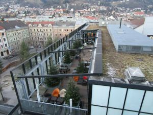 die Terrasse vom 5th Floor