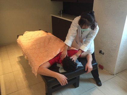 Kung Fu Massage in Taipeh
