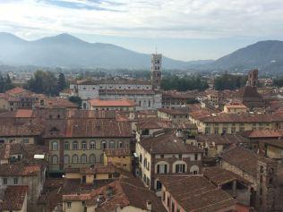 Blick au den Dom von Lucca