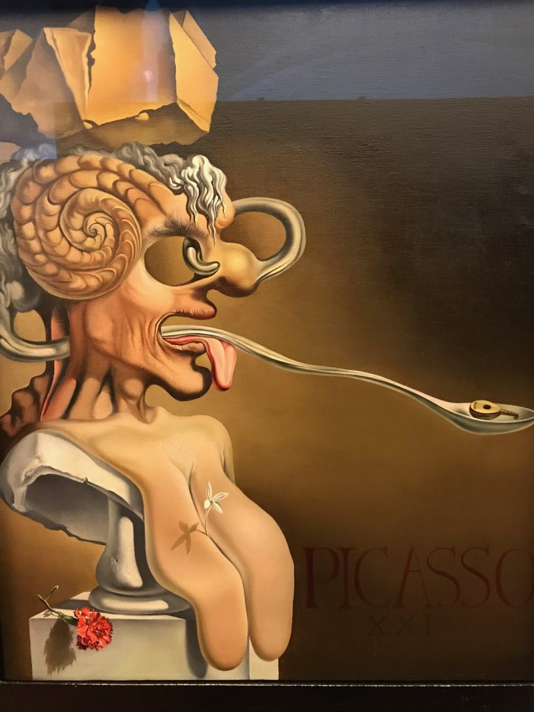 Porträt von Pablo Picasso