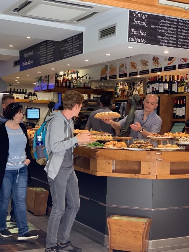 Pintxos-Bar in der Altstadt