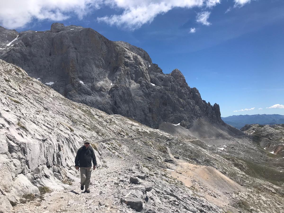 Wanderung auf Felsplateau
