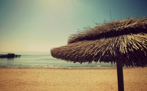 Op het strand in Aqaba