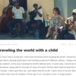 Traveling the world with a child – Gastblog op Gobackpackgo.com