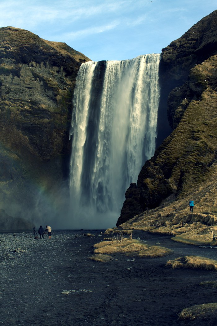 De Skogafoss waterval in IJsland
