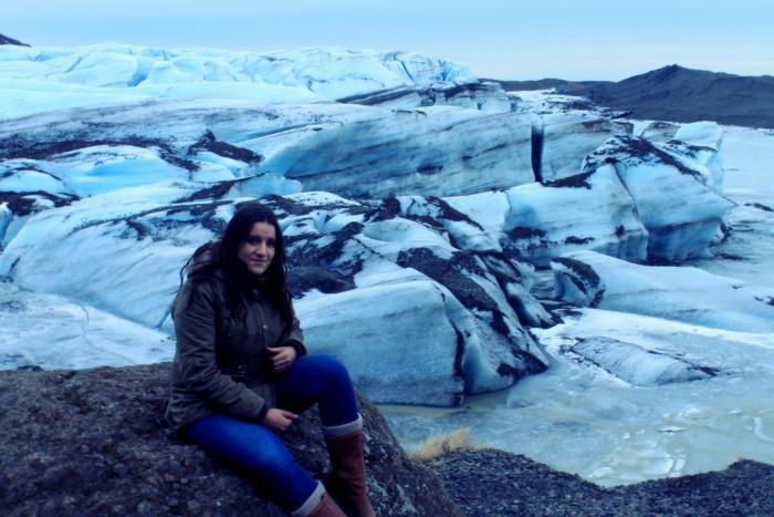 Gletsjer in IJsland