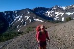 PCT hiker Northern California