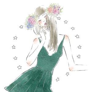 12星座 乙女座 占い 占星術 イラスト 女性 ファッション 広告 web  美容  イラストレーター イラストレーション おしゃれ mook本 女性誌 女性向けWEBメディア horoscope astrology illustration fashionillustration woman illustrator virgo