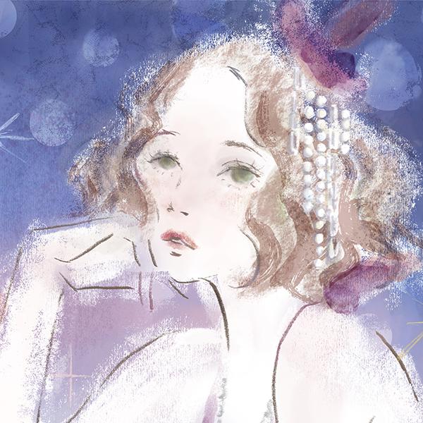ハロウィンイラスト SUGARTOPイラストコンペ シュガーイラストレータズクラブ AdobeFresco AdobeBlog 女性向け ファッション 広告 web  美容  イラストレーター イラストレーション おしゃれ illustration fashionillustration woman illustrator イラストレーターreism・i(リズム)