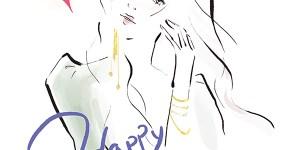 valentine2021 イラスト 女性向け ファッション 広告 web  美容  イラストレーター イラストレーション おしゃれ コスメ メイク カットイラスト 挿絵 ファッションイラストレーション バレンタインデー 大人コーデ アラサーコーデ アラフォーコーデ 手書き文字 ファッション drawing illustration fashionillustration illustrator イラストレーターreism・i(リズム)