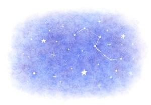 星空のイラスト 占い 占星術 イラスト 女性 ファッション 広告 web  イラストレーター イラストレーション おしゃれ mook本 女性誌 女性向けWEBメディア horoscope astrology illustration fashionillustration woman illustrator shiningstars イラストレーターreism・i(リズム)