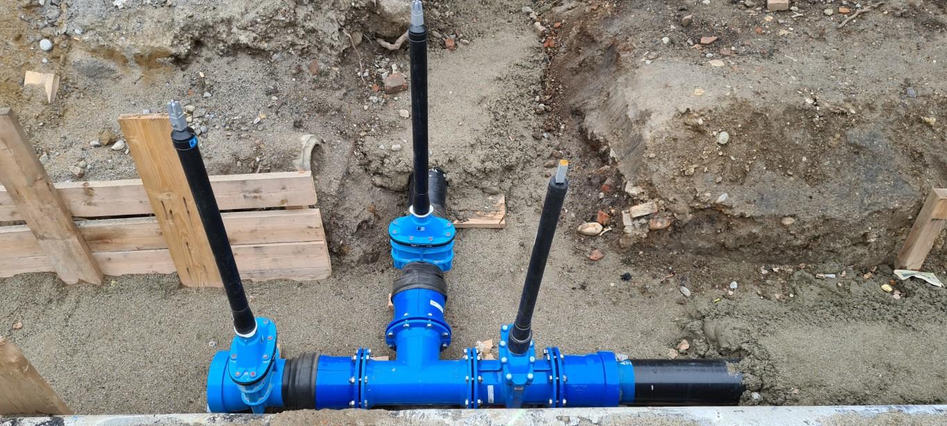 Einreich- und Ausführungsplanung Wasserleitung