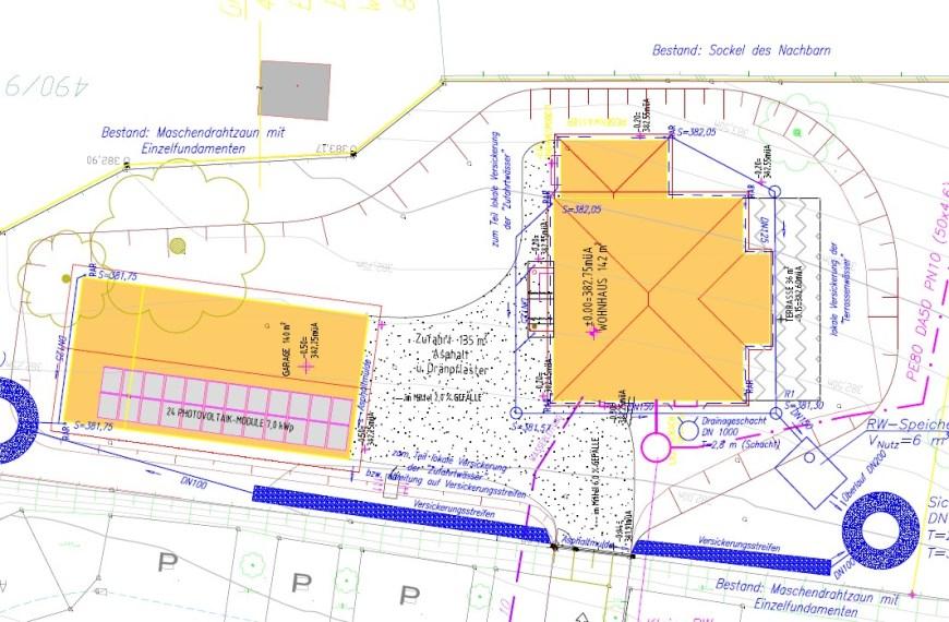 SW-, WV- und RW-Anlagen für Wohnobjekt