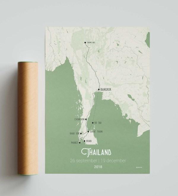 Thailand olijfgroen