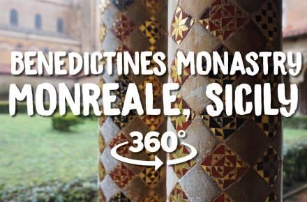 Monreale Benedictines klooster 360