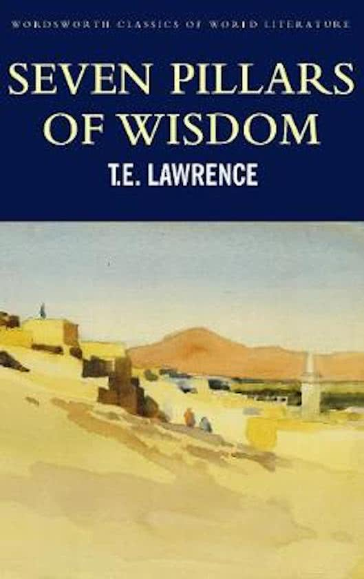 Boek: Seven Pillars of Wisdom cover
