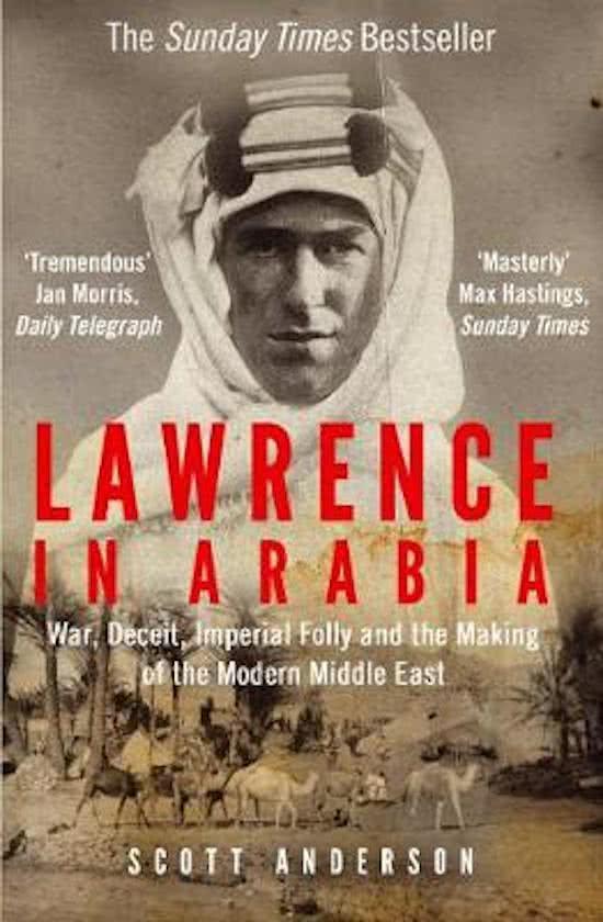 Boek: Lawrence in Arabia cover