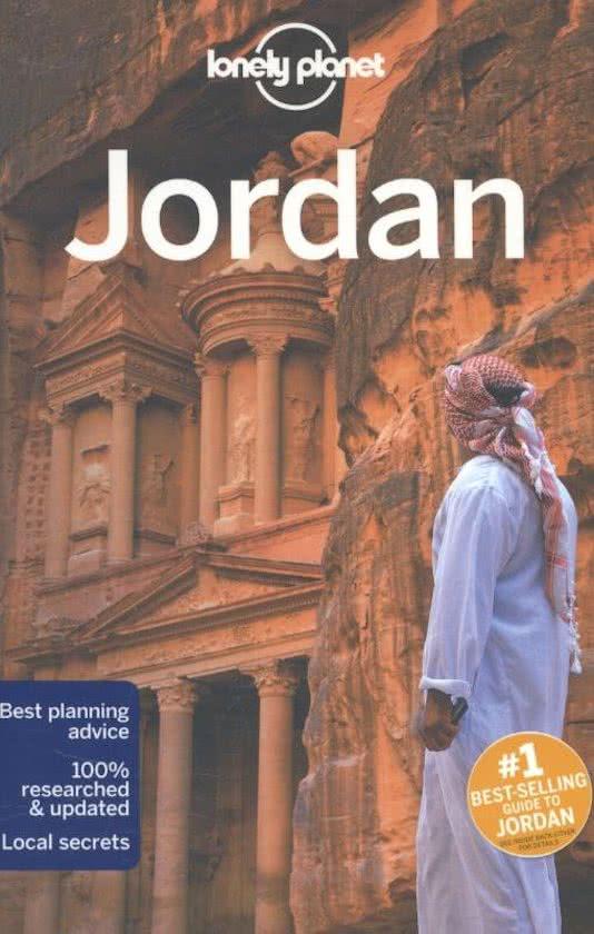 Reisgids: Lonely Planet Jordanië cover