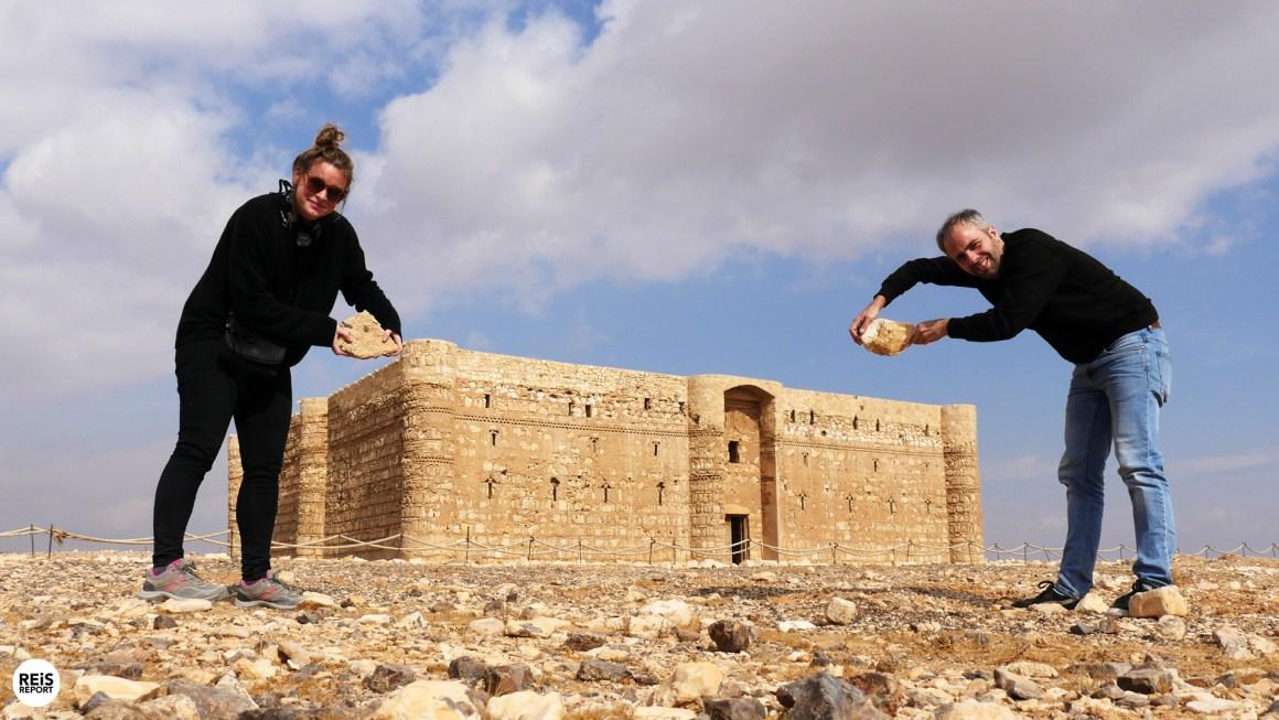 Al Kharanah kasteel jordanie