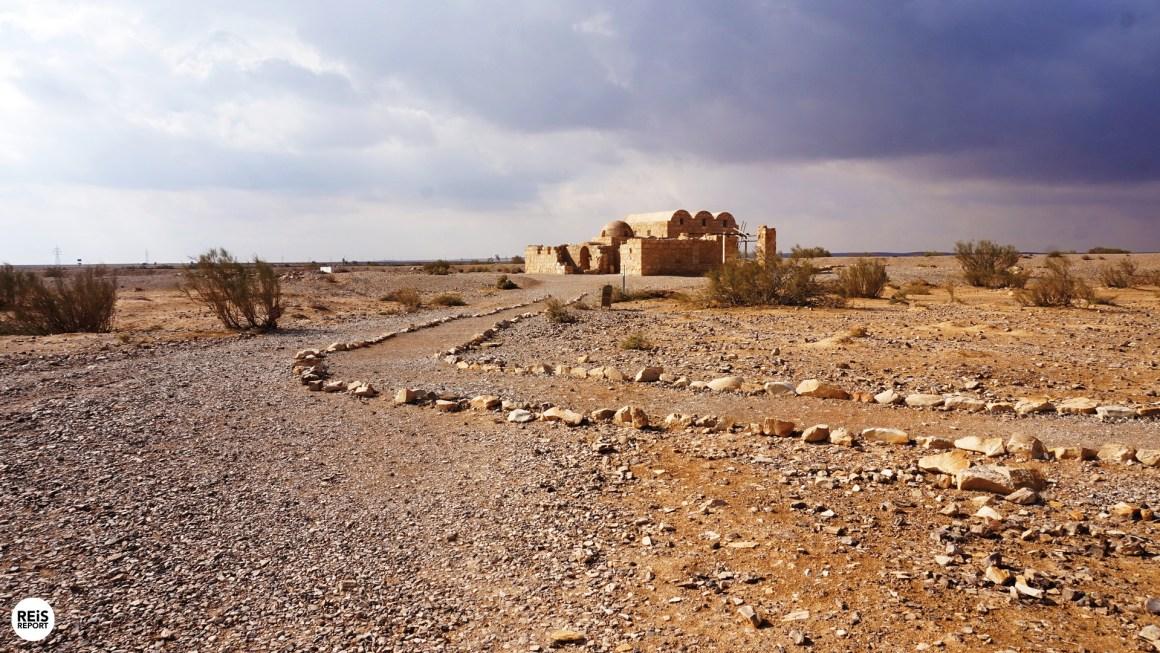 Amra kasteel jordanie