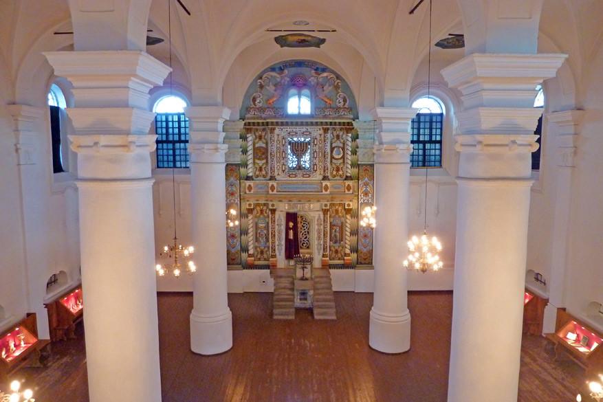 Binnen in de synagoge. © Bruno Loockx