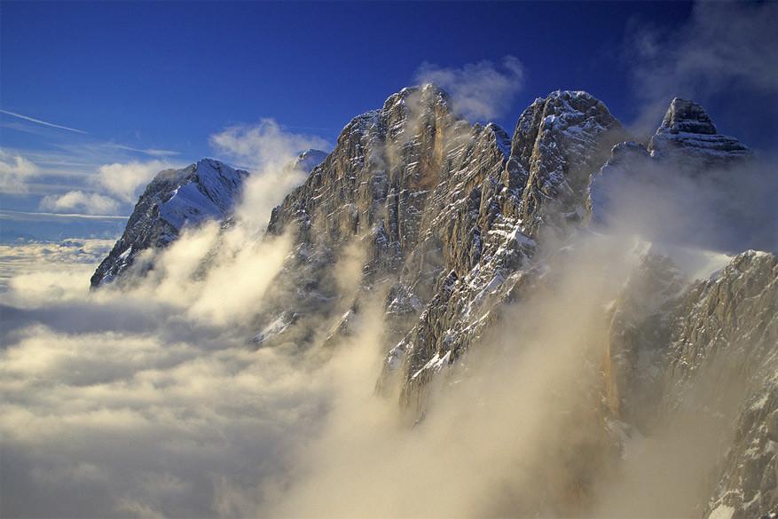 In Ramsau am Dachstein is het genieten van knappe panorama's en spectaculaire rotsformaties!