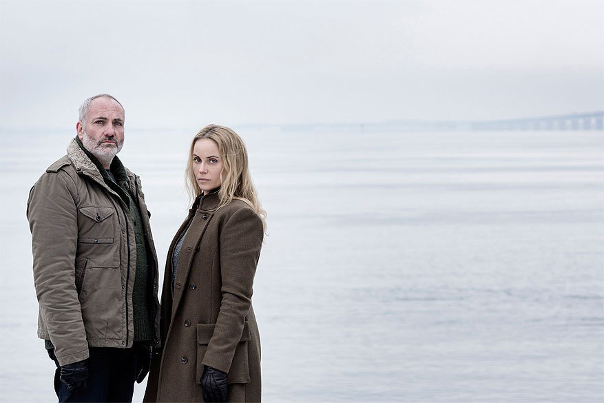 The Bridge in Zweden: Acteurs Kim Bodnia en Sofia Helin