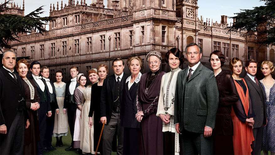 De cast van Downton Abbey