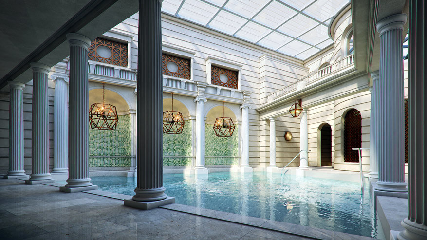 Bath: het Spa Village Bath in The Gainsborough. © VisitBritain