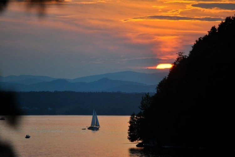 20. The Champlain Islands in Vermont, Verenigde Staten © Chad Lawlis