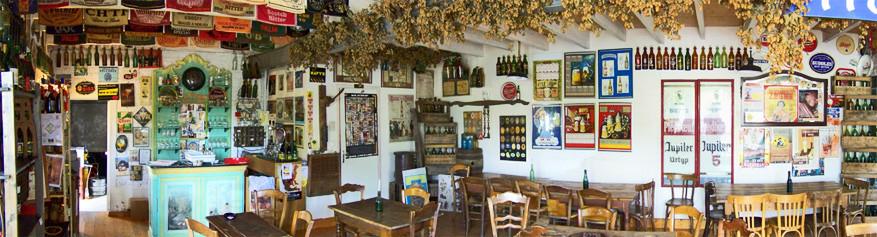 De brouwerij en het café Thiriez van Esquelbecq