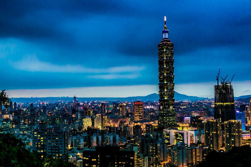 Panorama over Taipei, Taiwan © Pixabay
