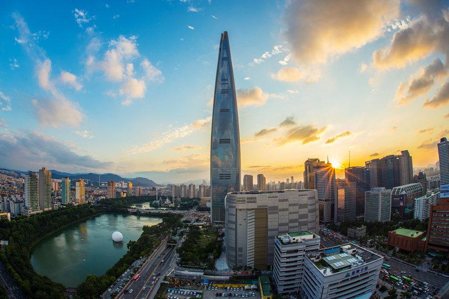 Uitzicht op Seoul, Korea © Pixabay