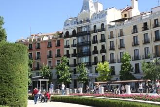 Madridin keskustassa/Centern of Madrid