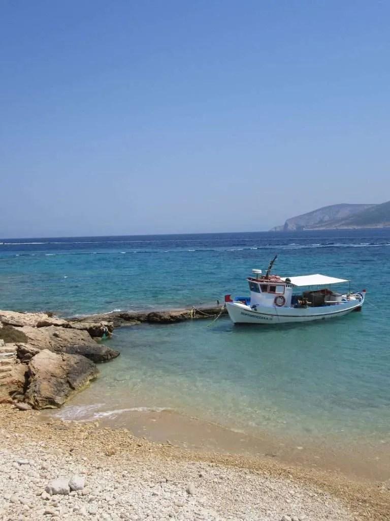Koufonisia boat sea
