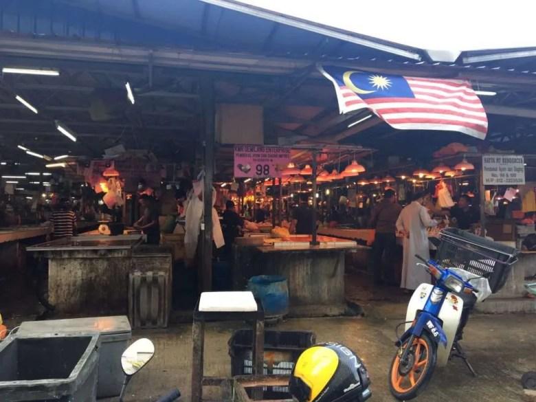 Markt Azië eten drinken