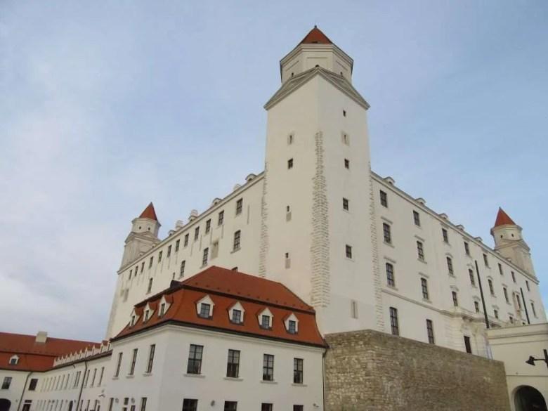 Castle Bratislava Slowakije Slowakia