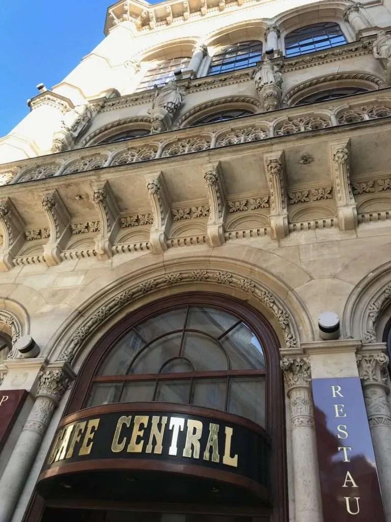 Café Central Vienna restautant koffiehuis