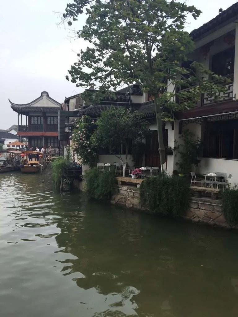Zhujiajiao China watertown river small town