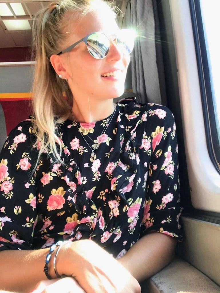 happy trainride train Montenegro