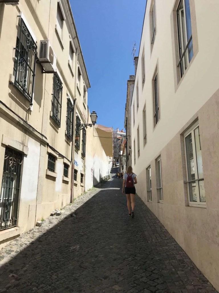 streets of lisboa Portugal