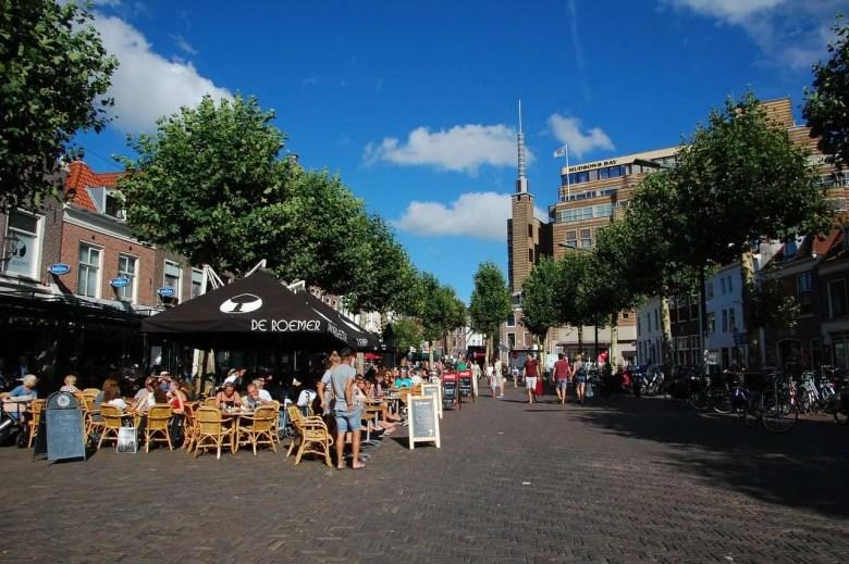 Botermarkt Haarlem Café de Gooth